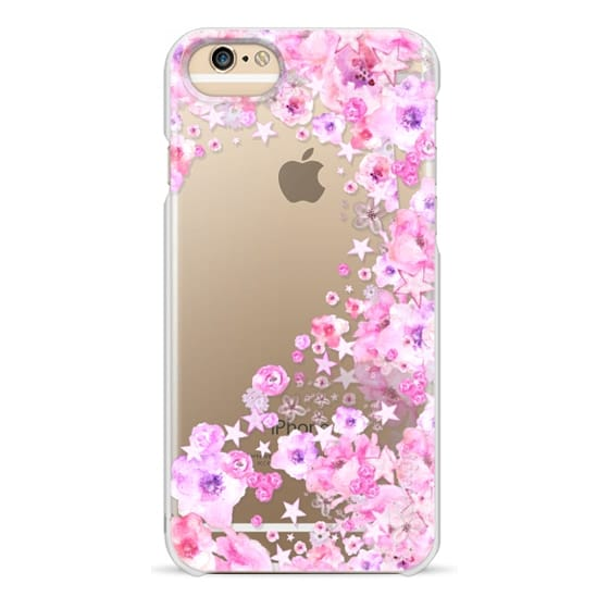 iPhone 6s Cases - PINK HEART PART II for Breastcancer Awereness by MS