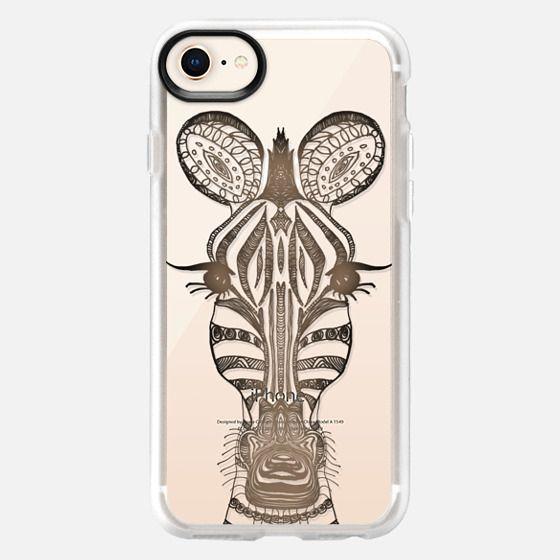 WOOD ZEBRA iphone case - Snap Case