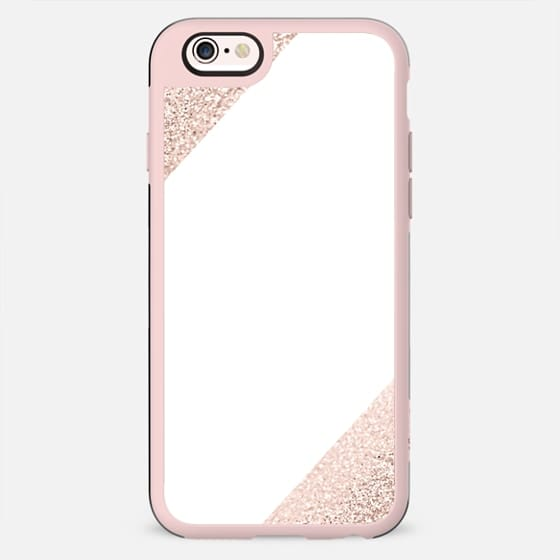 KILLIN*IT Rose Gold on White by Monika Strigel - New Standard Case