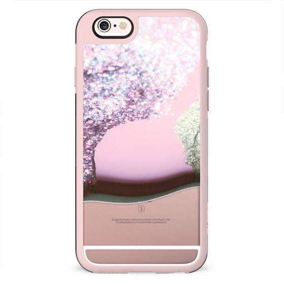 LIQUID PINK iPhone 6 by Monika Strigel
