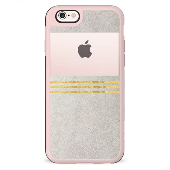 PURE by Monika Strigel Faux Suede iPhone 6