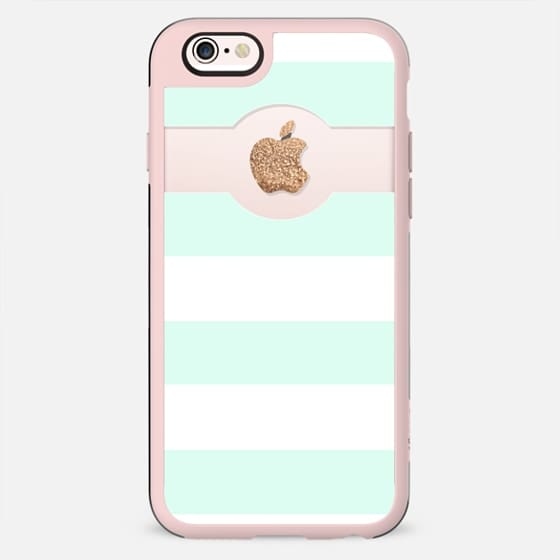 PRETTY MINT APPLE*ICIOUS by Monika Strigel for iPhone 5s -