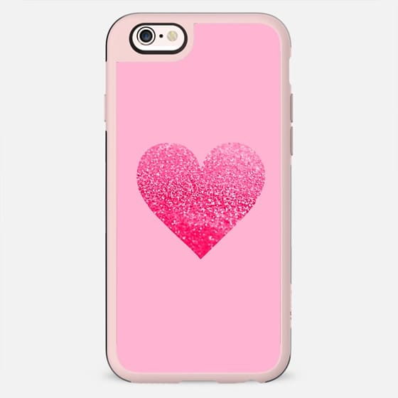 PINK PINK HEART by Monika Strigel