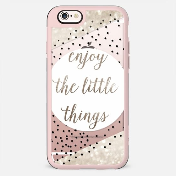 ENJoY THE LITTLE THINGS for iPhone 5s METALUX by Monika Strigel - New Standard Case