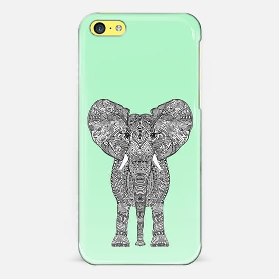 ELEPHANT GREEN - Classic Snap Case