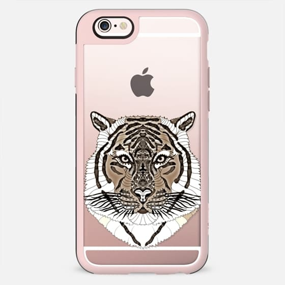 WOOD TIGER iphone case