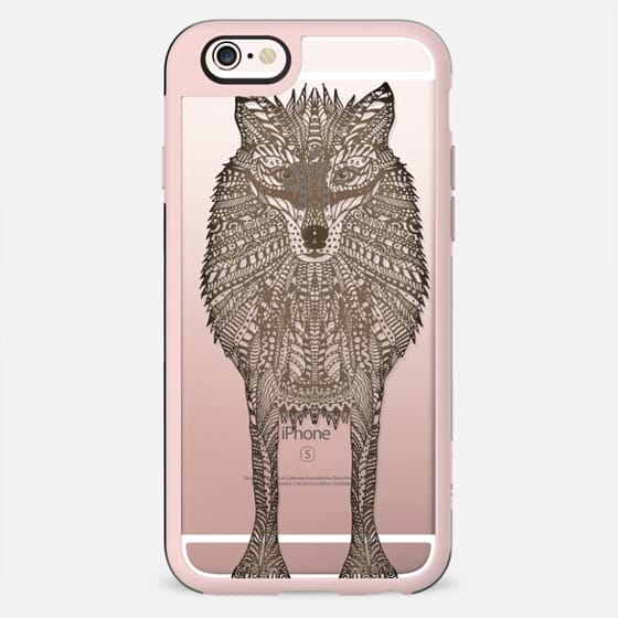 WOOD WOLF iphone case