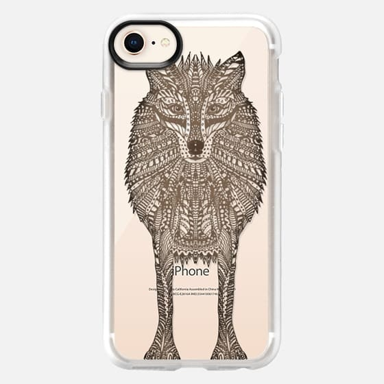 WOOD WOLF iphone case - Snap Case