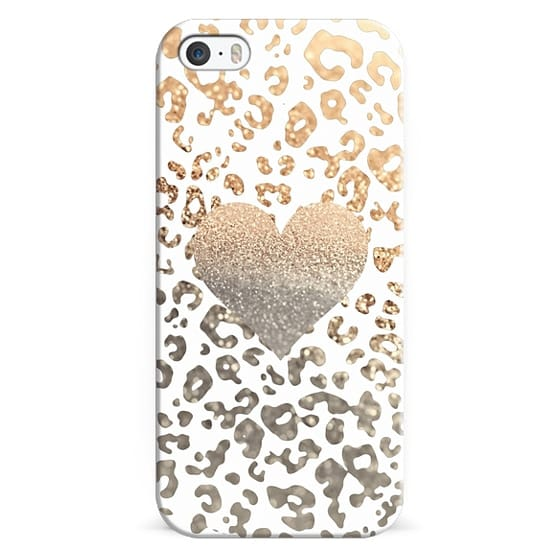 iPhone 6s Cases - HIPSTER GOLD HEART LEO for iPhone 5