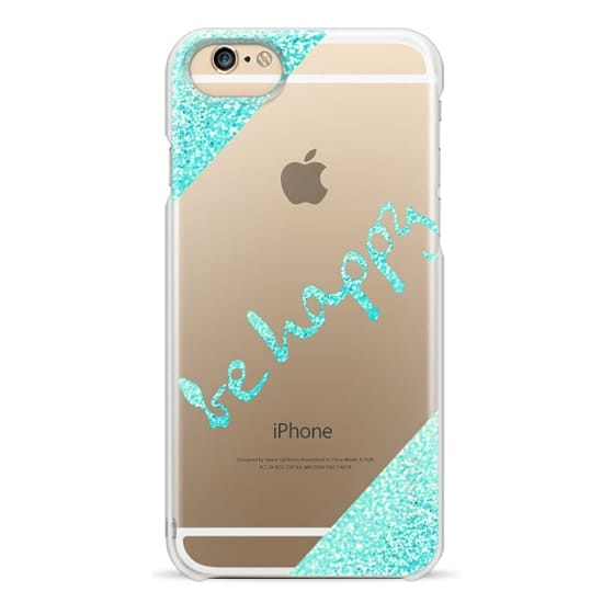 iPhone 6s Cases - *KILLIN-IT* Be happy Mint by Monika Strigel