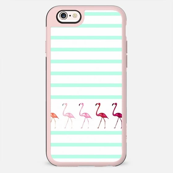 MINT FLAMINGO WALK  -