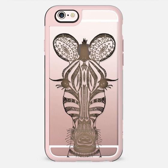 WOOD ZEBRA iphone case - New Standard Case