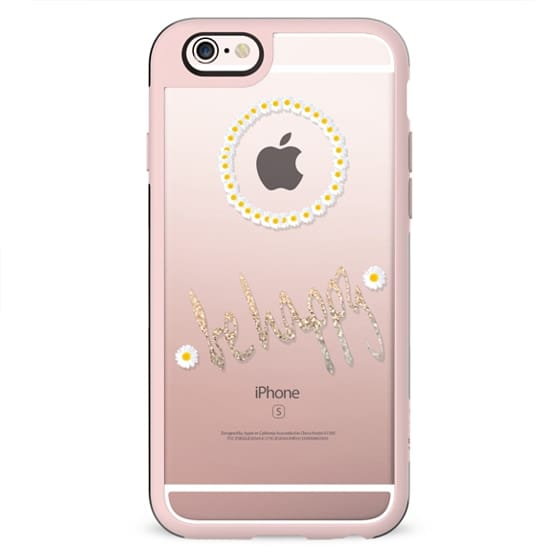 HOLLY`S BE HAPPY Transparent Case for iPhone 5