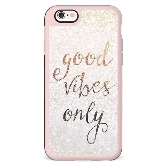 GOOD VIBES ONLY by Monika Strigel iPhone 5s