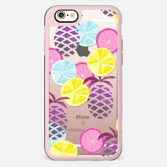 LEMONS & PINEAPPLES by Monika Strigel - New Standard Case