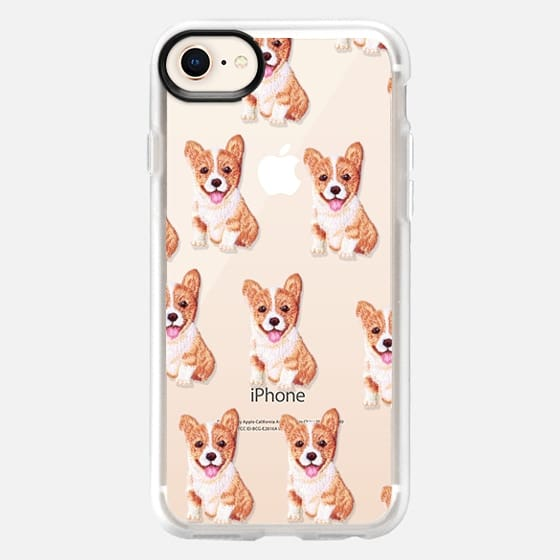PUPPY  PATCHES by Monika Strigel - Snap Case