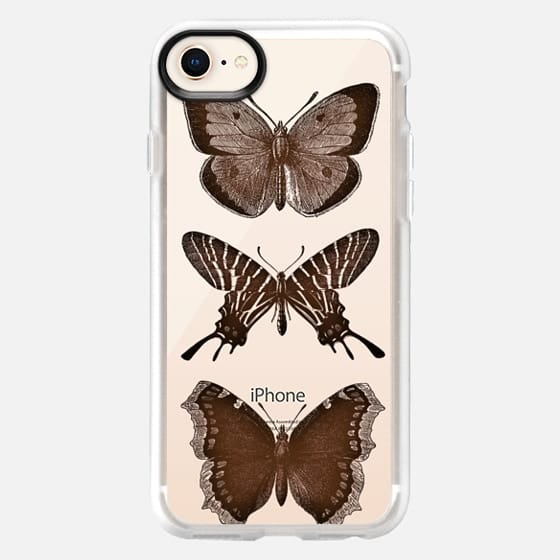 WOOD BUTTERFLY iphone case - Snap Case