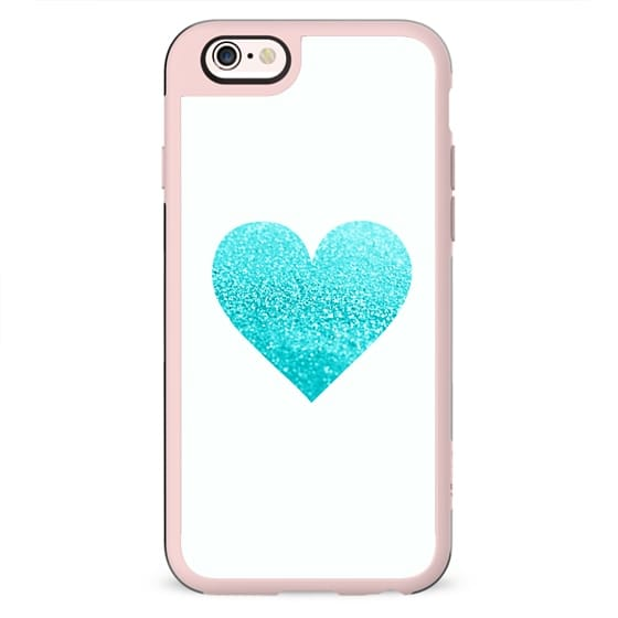 GATSBY AQUA HEART Hipster Black iphone case