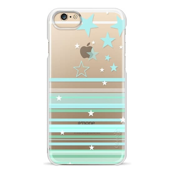 iPhone 6s Cases - MINT STARS & STRIPES