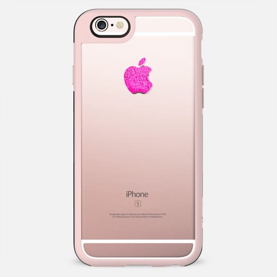 APPLE*ICIOUS PINK & HIPSTER BLACK by Monika Strigel iPhone 5s - New Standard Case