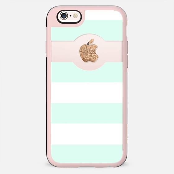PRETTY MINT APPLE*ICIOUS by Monika Strigel iPhone 6 plus - New Standard Case