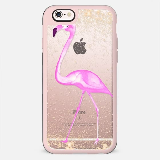 FLAMINGO & SPARKLES by Monika Strigel - New Standard Case