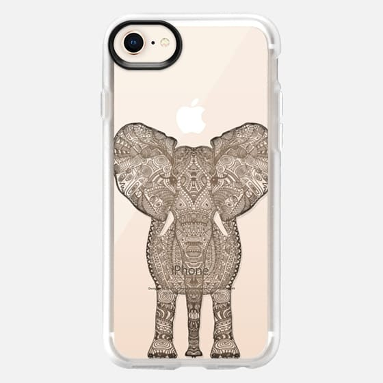 WOOD ELEPHANT iphone case - Snap Case