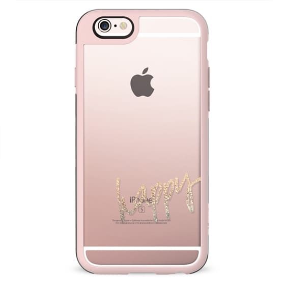 PRETTY HAPPY Transparent Case by Monika Strigel for iPhone 5