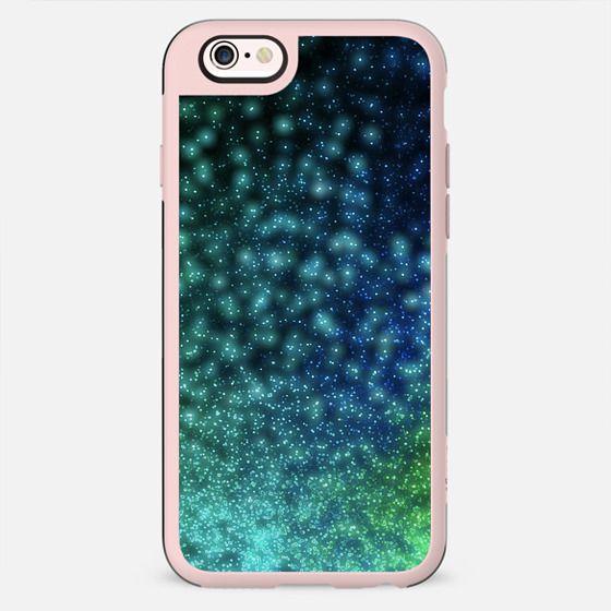 MAGIC LIGHTS BLUE by Monika Strigel iPhone 6 - New Standard Case