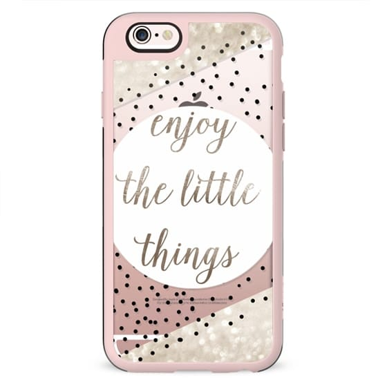 ENJoY THE LITTLE THINGS for iPhone 5s METALUX by Monika Strigel