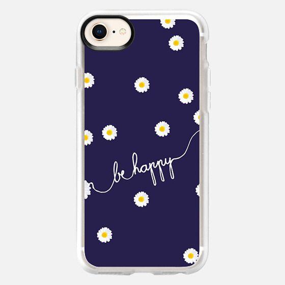 HAPPY DAISY BLUE - Snap Case