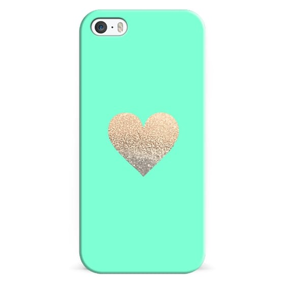 iPhone 6s Cases - GATSBY GOLD HEART MINT