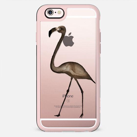 WOOD FLAMINGO iphone case - New Standard Case