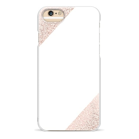 iPhone 6s Cases - KILLIN*IT Rose Gold on White by Monika Strigel