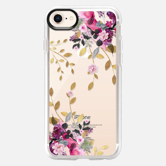 FLOWER & GOLD by Monika Strigel - Snap Case