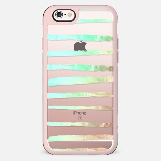 SURI SEAFOAM transparent iPhone 6 by Monika Strigel - New Standard Case