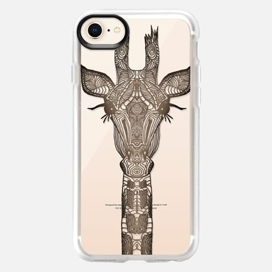 REAL WOOD GIRAFFE  iphonecase - Snap Case