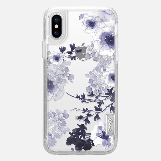 iPhone X 保護殼 - BLUE SPRING by Monika Strigel