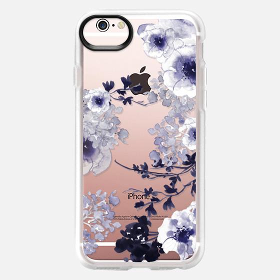 iPhone 6s Funda - BLUE SPRING by Monika Strigel