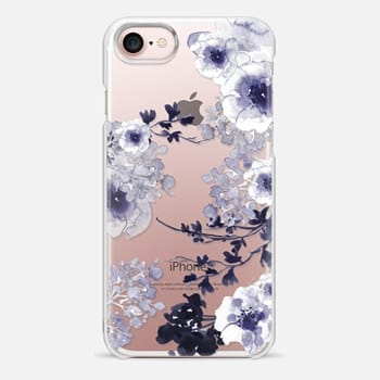 iPhone 7 Case BLUE SPRING by Monika Strigel