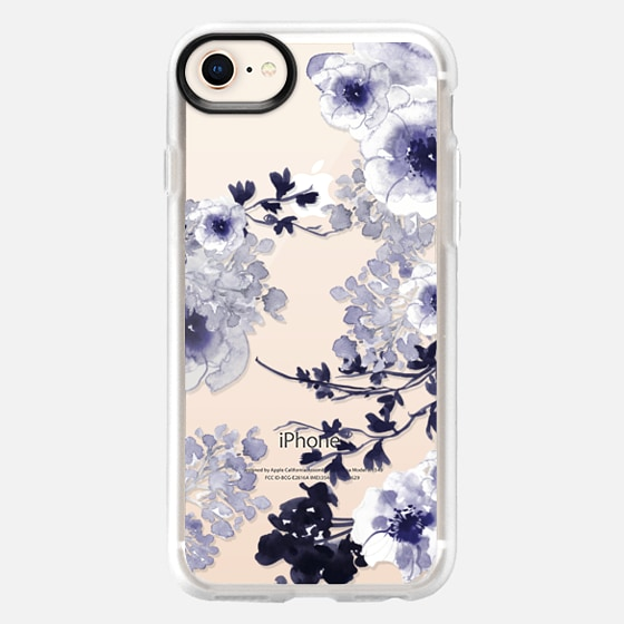 iPhone 8 Case - BLUE SPRING by Monika Strigel
