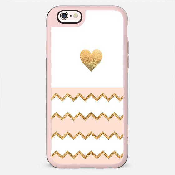 AVALON PEACH HEART Galaxy S6 Edge by Monika Strigel - New Standard Case
