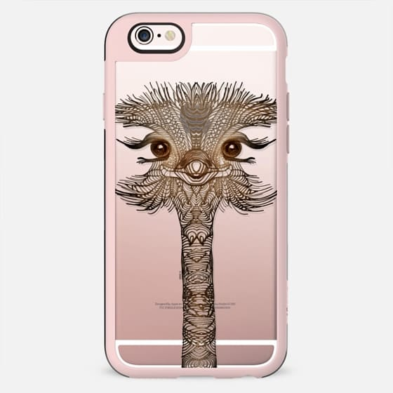 WOOD OSTRICH iphone case