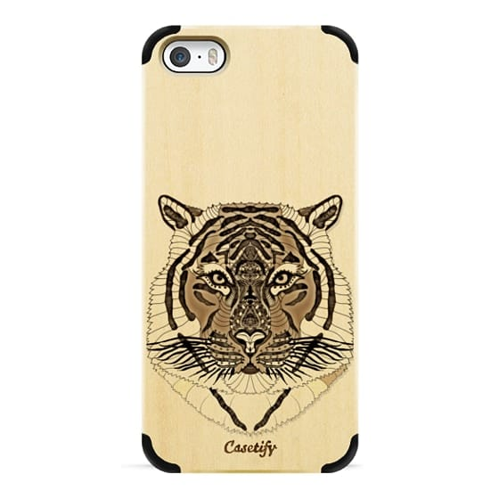 iPhone 6s Cases - WOOD TIGER iphone case