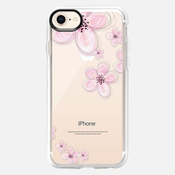 CHERRY BLOSSOM iPhone 6 Plus Crystal Clear Case - Snap Case