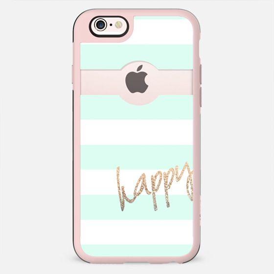 PRETTY HAPPY II MINT by Monika Strigel iPhone 6 - New Standard Case