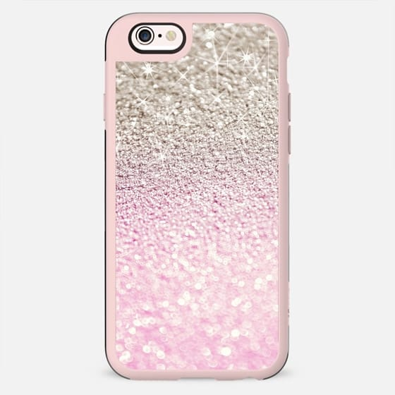 NUDE PINK FRENZY by Monika Strigel FAUX GLITTER