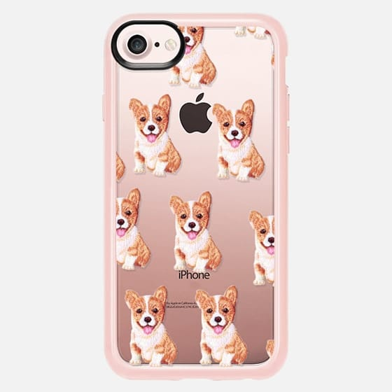 PUPPY  PATCHES by Monika Strigel - Classic Grip Case