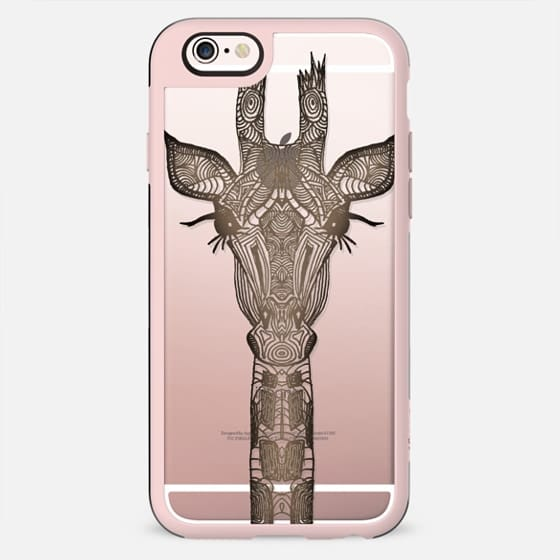REAL WOOD GIRAFFE  iphonecase - New Standard Case