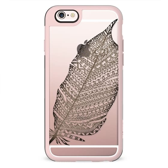 WOOD FEATHER iphone case